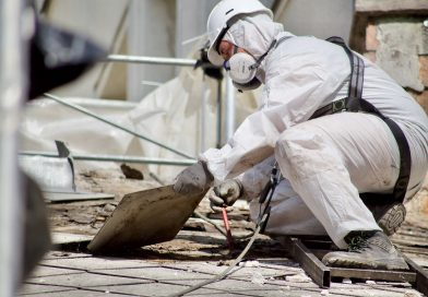 Rekonštrukcia budovy - práca s azbestom